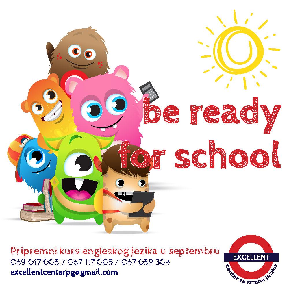 Pripremni kurs engleskog jezika u septembru